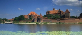 Gothic castle of the Teutonic Knights at Malbork
